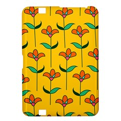 Small Flowers Pattern Floral Seamless Vector Kindle Fire HD 8.9