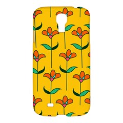Small Flowers Pattern Floral Seamless Vector Samsung Galaxy S4 I9500/i9505 Hardshell Case