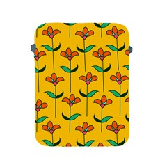 Small Flowers Pattern Floral Seamless Vector Apple iPad 2/3/4 Protective Soft Cases