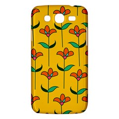 Small Flowers Pattern Floral Seamless Vector Samsung Galaxy Mega 5.8 I9152 Hardshell Case