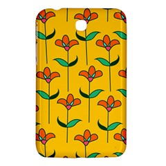 Small Flowers Pattern Floral Seamless Vector Samsung Galaxy Tab 3 (7 ) P3200 Hardshell Case