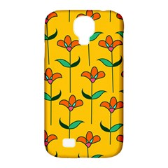 Small Flowers Pattern Floral Seamless Vector Samsung Galaxy S4 Classic Hardshell Case (PC+Silicone)