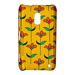 Small Flowers Pattern Floral Seamless Vector Nokia Lumia 620