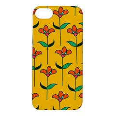 Small Flowers Pattern Floral Seamless Vector Apple iPhone 5S/ SE Hardshell Case