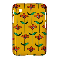 Small Flowers Pattern Floral Seamless Vector Samsung Galaxy Tab 2 (7 ) P3100 Hardshell Case
