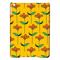 Small Flowers Pattern Floral Seamless Vector iPad Air Hardshell Cases