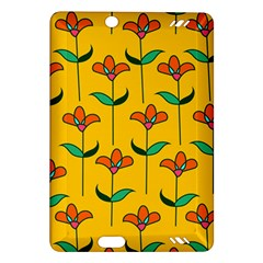 Small Flowers Pattern Floral Seamless Vector Amazon Kindle Fire HD (2013) Hardshell Case