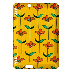 Small Flowers Pattern Floral Seamless Vector Kindle Fire HDX Hardshell Case