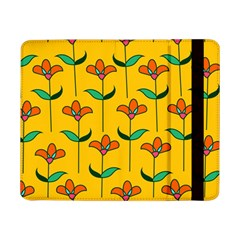 Small Flowers Pattern Floral Seamless Vector Samsung Galaxy Tab Pro 8 4  Flip Case