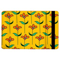 Small Flowers Pattern Floral Seamless Vector iPad Air 2 Flip