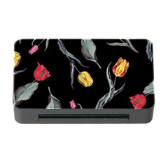 Colorful Tulip Wallpaper Pattern Background Pattern Wallpaper Memory Card Reader with CF