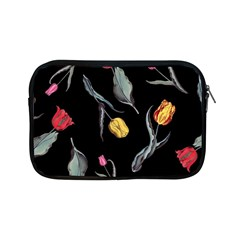 Colorful Tulip Wallpaper Pattern Background Pattern Wallpaper Apple Ipad Mini Zipper Cases