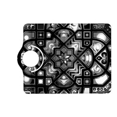 Geometric Line Art Background In Black And White Kindle Fire HD (2013) Flip 360 Case