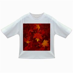 Autumn Leaves Fall Maple Infant/toddler T Shirts