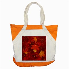 Autumn Leaves Fall Maple Accent Tote Bag