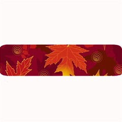 Autumn Leaves Fall Maple Large Bar Mats