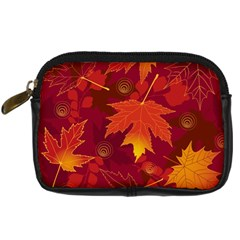 Autumn Leaves Fall Maple Digital Camera Cases