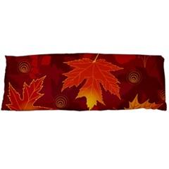 Autumn Leaves Fall Maple Body Pillow Case (Dakimakura)
