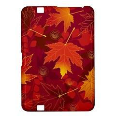 Autumn Leaves Fall Maple Kindle Fire HD 8.9