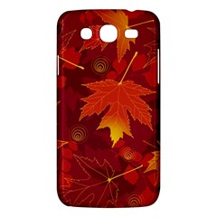 Autumn Leaves Fall Maple Samsung Galaxy Mega 5.8 I9152 Hardshell Case