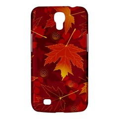 Autumn Leaves Fall Maple Samsung Galaxy Mega 6 3  I9200 Hardshell Case