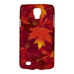 Autumn Leaves Fall Maple Galaxy S4 Active