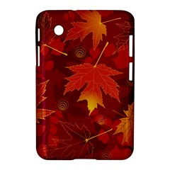 Autumn Leaves Fall Maple Samsung Galaxy Tab 2 (7 ) P3100 Hardshell Case