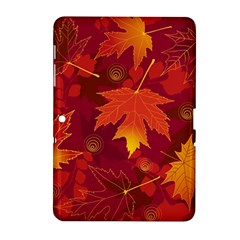 Autumn Leaves Fall Maple Samsung Galaxy Tab 2 (10.1 ) P5100 Hardshell Case