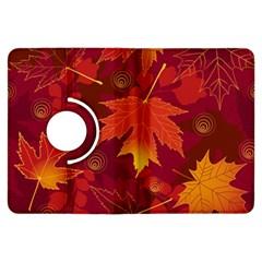 Autumn Leaves Fall Maple Kindle Fire Hdx Flip 360 Case