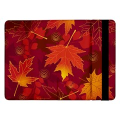 Autumn Leaves Fall Maple Samsung Galaxy Tab Pro 12.2  Flip Case