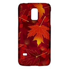 Autumn Leaves Fall Maple Galaxy S5 Mini