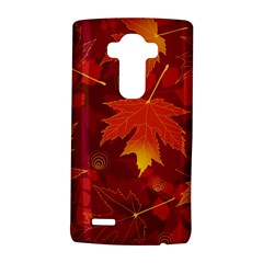 Autumn Leaves Fall Maple LG G4 Hardshell Case