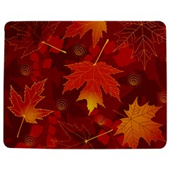 Autumn Leaves Fall Maple Jigsaw Puzzle Photo Stand (Rectangular)