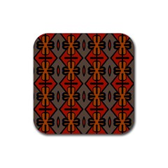 Seamless Pattern Digitally Created Tilable Abstract Rubber Coaster (square)