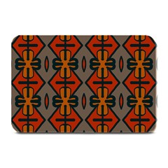 Seamless Pattern Digitally Created Tilable Abstract Plate Mats