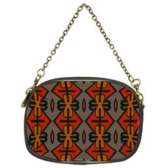 Seamless Pattern Digitally Created Tilable Abstract Chain Purses (one Side)