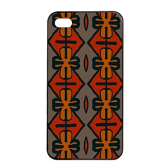 Seamless Pattern Digitally Created Tilable Abstract Apple Iphone 4/4s Seamless Case (black)