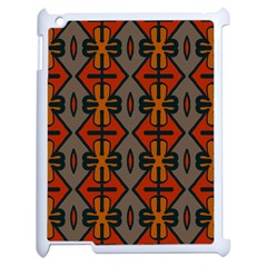 Seamless Pattern Digitally Created Tilable Abstract Apple iPad 2 Case (White)