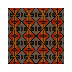Seamless Pattern Digitally Created Tilable Abstract Acrylic Tangram Puzzle (6  x 6 )