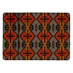 Seamless Pattern Digitally Created Tilable Abstract Samsung Galaxy Tab 10.1  P7500 Flip Case