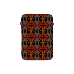 Seamless Pattern Digitally Created Tilable Abstract Apple iPad Mini Protective Soft Cases