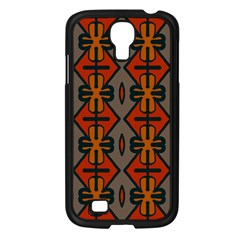 Seamless Pattern Digitally Created Tilable Abstract Samsung Galaxy S4 I9500/ I9505 Case (black)