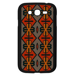 Seamless Pattern Digitally Created Tilable Abstract Samsung Galaxy Grand DUOS I9082 Case (Black)