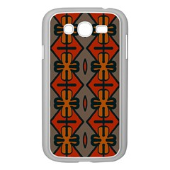 Seamless Pattern Digitally Created Tilable Abstract Samsung Galaxy Grand DUOS I9082 Case (White)