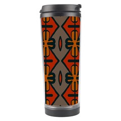 Seamless Pattern Digitally Created Tilable Abstract Travel Tumbler
