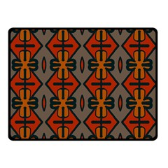 Seamless Pattern Digitally Created Tilable Abstract Double Sided Fleece Blanket (Small)
