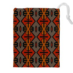 Seamless Pattern Digitally Created Tilable Abstract Drawstring Pouches (xxl)