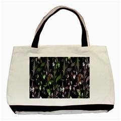 Floral Pattern Background Basic Tote Bag