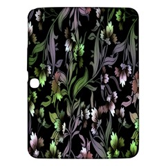 Floral Pattern Background Samsung Galaxy Tab 3 (10.1 ) P5200 Hardshell Case