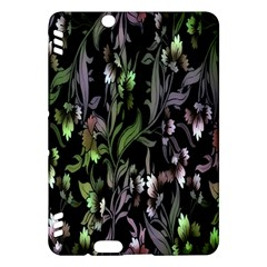 Floral Pattern Background Kindle Fire HDX Hardshell Case